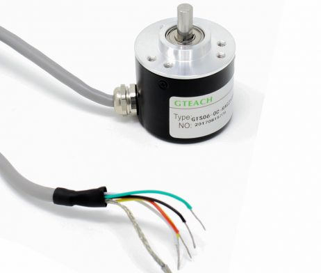 Incremental Photoelectric Rotary Encoder ZSP3806 2500 PPR Solid Shaft Wire ABZ Three phase 5-24V - Robu (2)