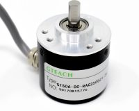 Incremental Photoelectric Rotary Encoder ZSP3806 2500 PPR Solid Shaft Wire ABZ Three phase 5-24V - Robu (3)