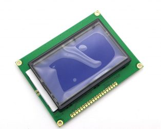 LCD 12864 (128x64) Graphic Green Color BackLight LCD Display module - ROBU.IN