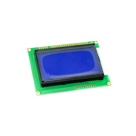 12864B Graphic Blue Color Backlight LCD Display Module