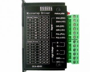 TB6600 Stepper Motor Driver Controller 4A 9~42V TTL 16 Micro-Step CNC 1 Axis