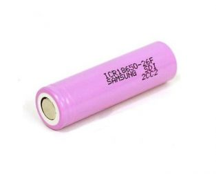 Samsung 2600mAh 18650 1S Lithium-ion Cell (Robu.in)