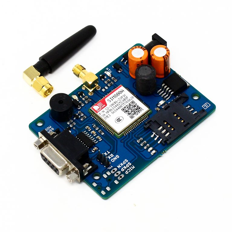 SIM800A Quad Band GSMGPRS Module with RS232 Interface