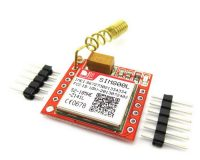Small SIM800L GPRS GSM Module Micro SIM Card Core Board Quad-band TTL Serial Port with the antenna (Robu.in)