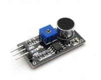 LM393 Sound Detection Sensor Module - Black (Robu.in)