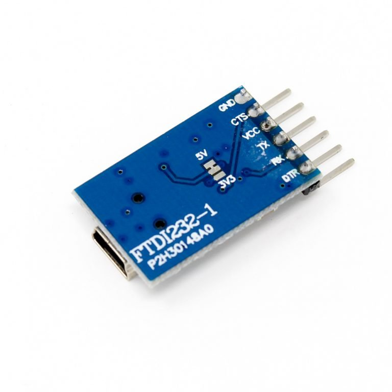 TTL FTDI Transmitter USB For 3.3V 5V dual power FT232RL FTDI MWC Programmer - Robu (2)