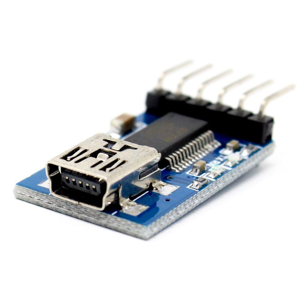 TTL FTDI Transmitter USB For 3.3V 5V dual power FT232RL FTDI MWC Programmer - Robu (4)