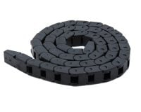 10 x 10mm 1m Cable Drag Chain Wire Carrier (Robu.in)