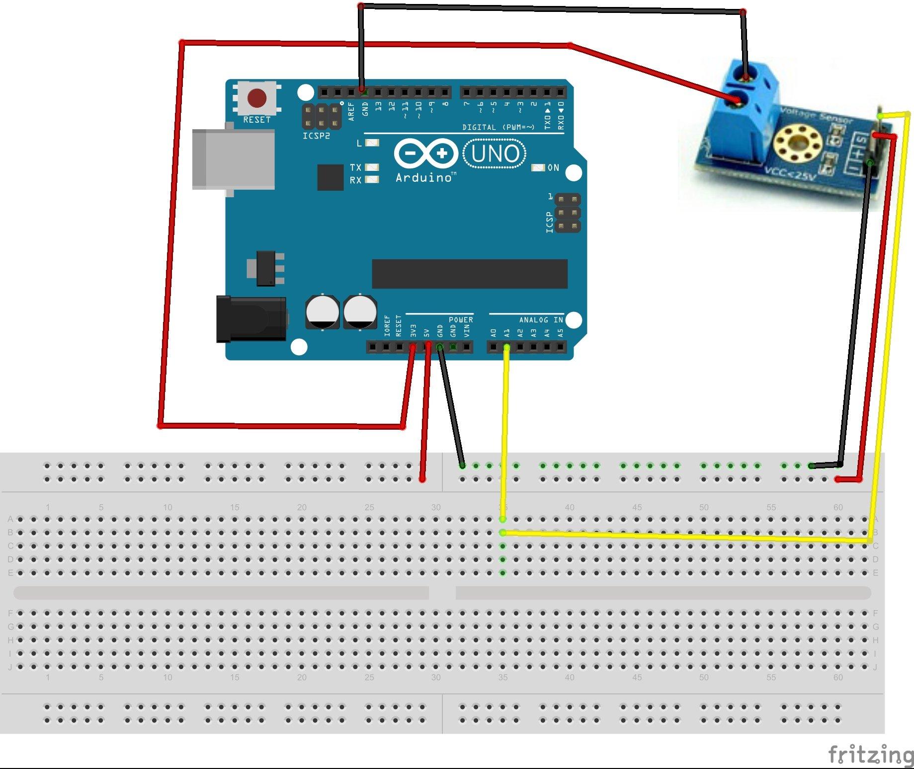 Voltage Detection Sensor Module 25V - Robu in | Indian Online Store | RC  Hobby | Robotics