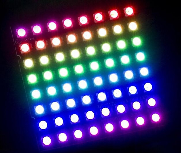 CJMCU 64 Bit 8x8 RGB LED Driver Development Board