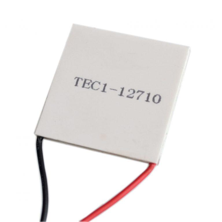 TEC1-12710 40x40mm 10A Heatsink Thermoelectric Cooler Cooling Peltier Plate Module