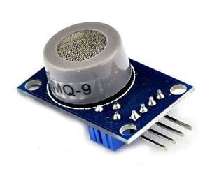 MQ-9 Carbon Monoxide, Methane and LPG Gas Sensor Module