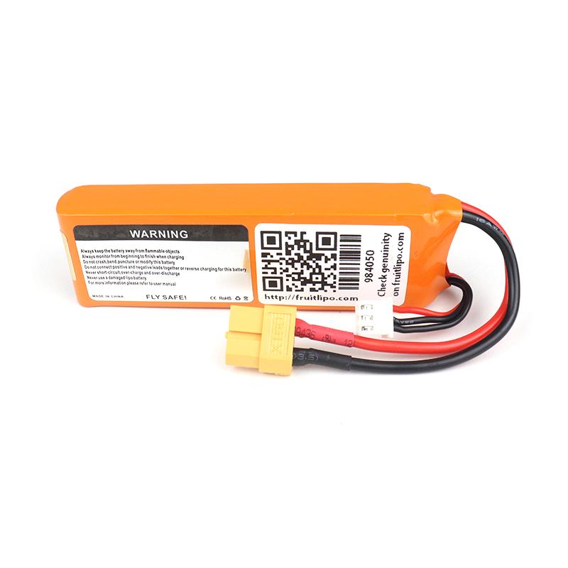 Orange Transmitter (TX) 2500mAh 2S 3C (7.4V) Lithium Polymer Battery Pack (Li-PO)