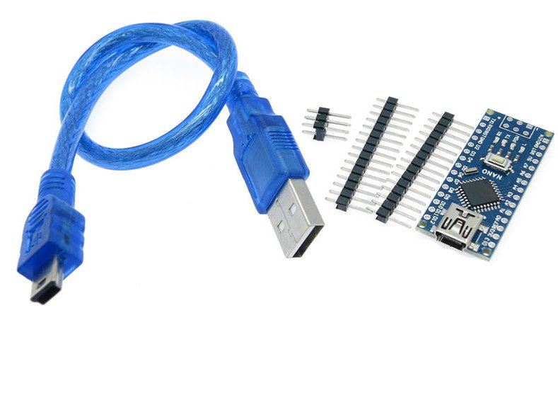 Arduino Nano V3.0 CH340 Chip with Mini USB Cable (Unsoldered)
