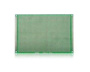 8*12 CM UNIVERSAL PCB PROTOTYPE BOARD DOUBLE-SIDED (Robu.in)