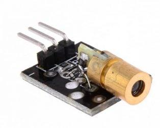LASER MODULE 650NM 5V (Robu.in)