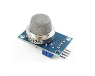 Buy MQ 135 Air Quality Gas Detector Sensor Module For Arduino (Robu.in)