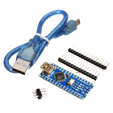 Arduino Nano V3.0 CH340 Chip with Mini USB Cable (Unsoldered)