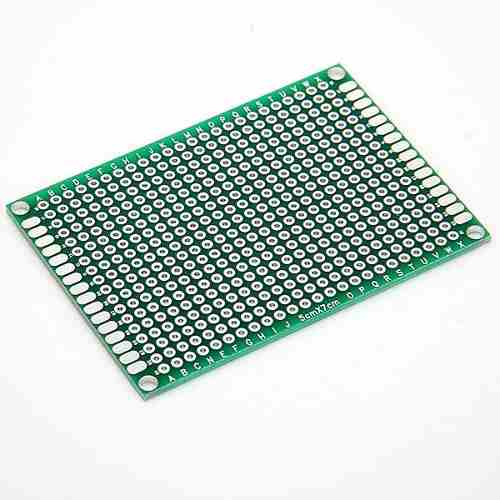 8*12 CM UNIVERSAL PCB PROTOTYPE BOARD DOUBLE-SIDED