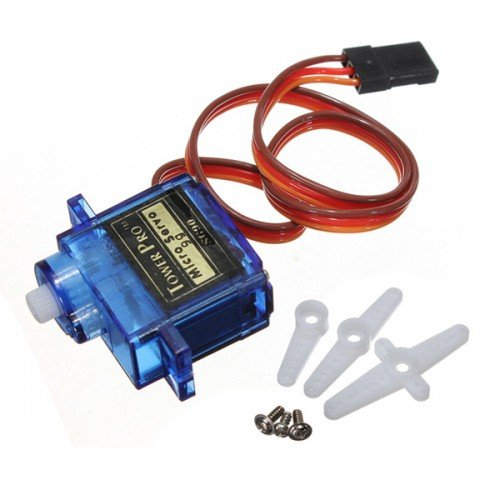 TowerPro SG90 9gm 1.2kg 180 Degree Rotation Servo Motor - Good Quality