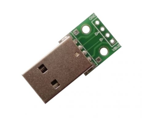 USB Type A Breakout Board - Male