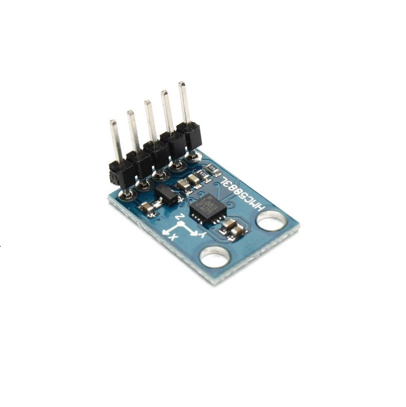 GY-271 HMC5883L 3-axis Electronic Compass Module Magnetic Field Sensor -  Original Chip - Robu in   Indian Online Store   RC Hobby   Robotics