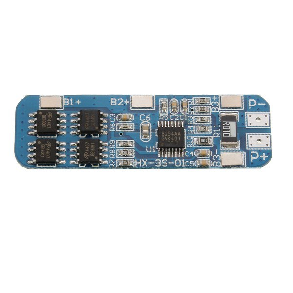 3S 12V 10A 18650 Lithium Battery Overcharge And Over-current Protection board-Good Quality