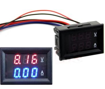 0.28 inch Digital Voltmeter Ammeter DC 100V 50A
