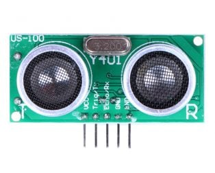 US-100 Ultrasonic Sensor Distance Measuring Module with Temperature Compensation (Robu.in)