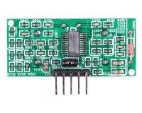 US-100 Ultrasonic Sensor Distance Measuring Module with Temperature Compensation (Robu.in)