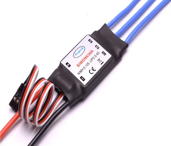 SimonK 30A Brushless Speed Controller ESC Multicopter Helicopter Airplane -  Good Quality
