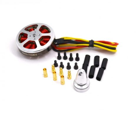 5010 750KV High Torque Brushless Motors For MultiCopter / QuadCopter / Multi-axis aircraft (Robu.in)