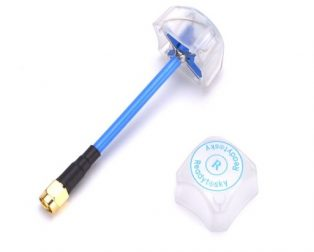 5.8G 3dBi 4 Leaf Clover RHCP SMA Antenna with Cover for FPV Multicopter