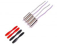 CW & CCW Coreless Brushed Motor +55mm Blade Propeller