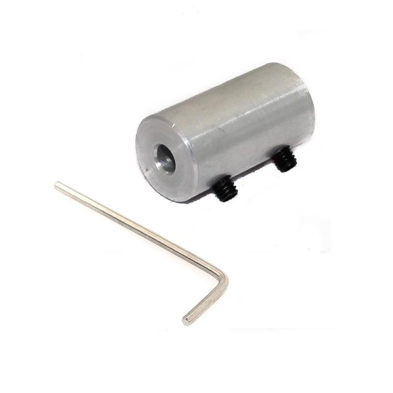EasyMech Aluminium NEMA17 SHAFT COUPLING 5MM X 8MM- ROBU.IN