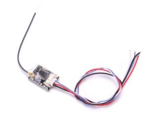 Mini Radio Receiver 2.4GHz Compatible with Flysky PPM & SBUS Remote Control Transmitter (Robu.in)