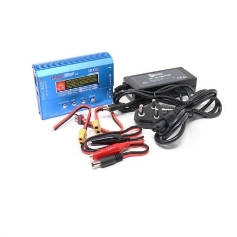 SkyRC IMAX B6 50W 5A Charger/Discharger 1-6 Cells + DC 5A 12V 60W ADAPTER AC (Original)