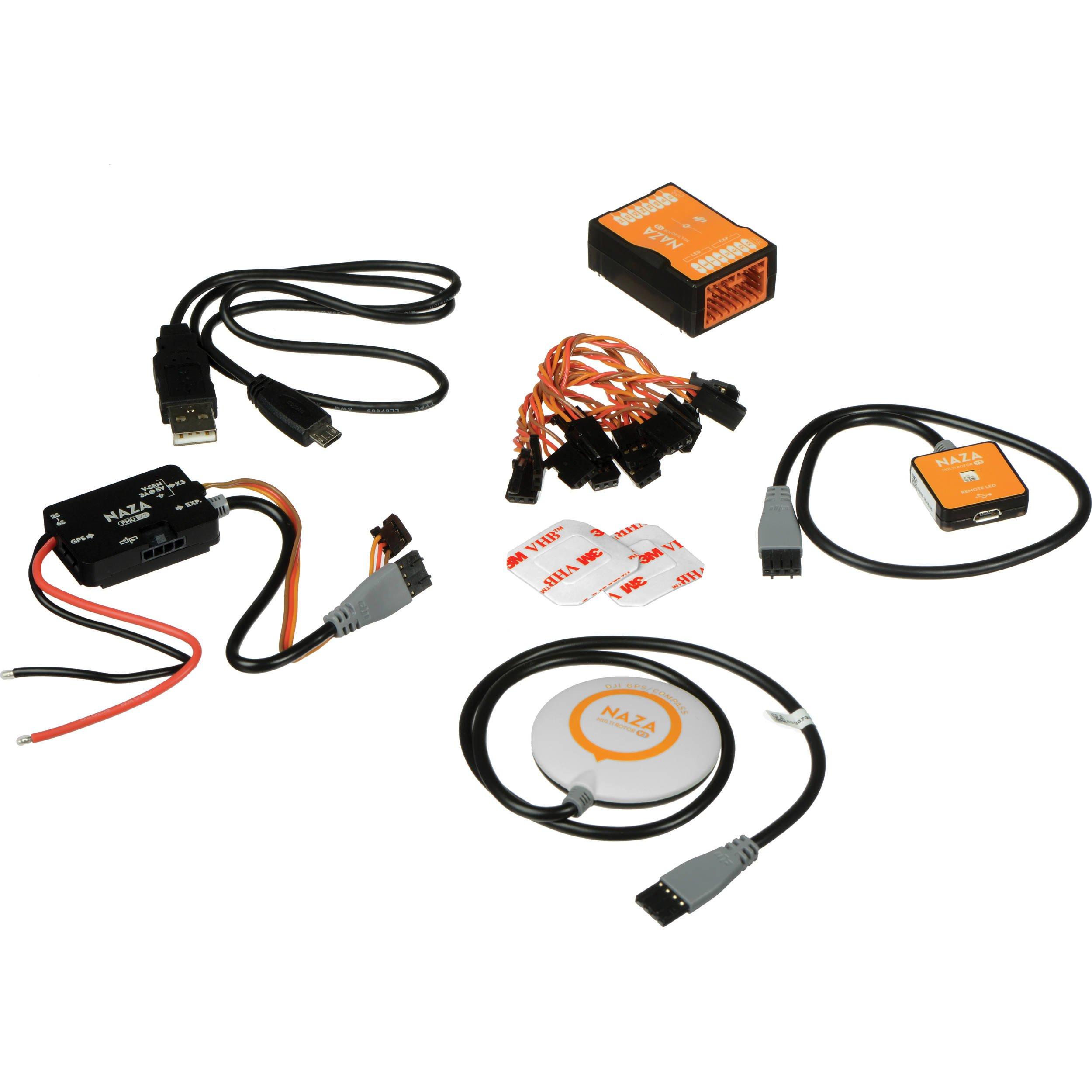 DJI NAZA-M V2 Multirotor Autopilot Controller set With GPS