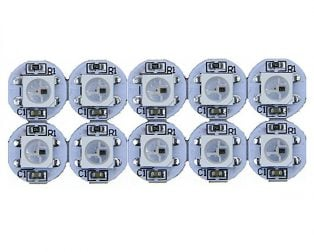 WS2812B RGB Addressable LED Module-10Pcs