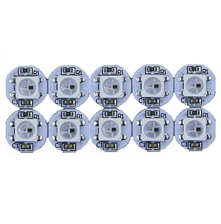 WS2812B RGB Addressable LED Module-10Pcs