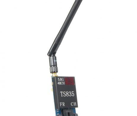TS835 FPV 5.8G 600MW 48CH (2-6S) Wireless AV Transmitter