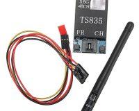 TS835 FPV 5.8G 600MW 48CH (2-6S) Wireless AV TransmitterTS835 FPV 5.8G 600MW 48CH (2-6S) Wireless AV Transmitter