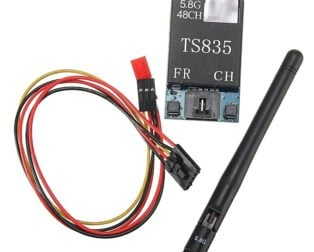 TS835 FPV 5.8G 600MW 48CH (2-6S) Wireless AV TransmitterTS835 FPV 5.8G 600MW 48CH (2-6S) Wireless AV Transmitter