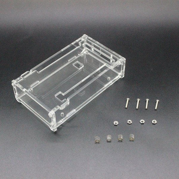 MEGA 2560 R3 CH340G Board+USB Acrylic Box  Transparent Case  For Arduino