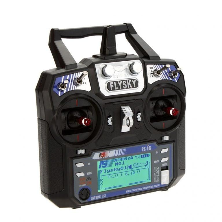 FlySky FS-i6 2.4G 6CH PPM RC Transmitter With FS-iA6B Receiver