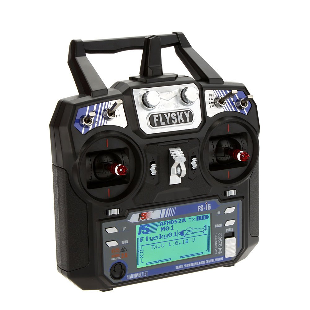 Buy FlySky FS-i6 2.4G 6CH PPM RC Transmitter With FS-iA6B Receiver In India