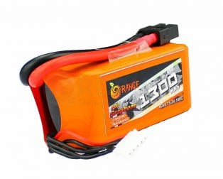 ORANGE Graphene 1300 mAh 4S 100C LITHIUM POLYMER BATTERY PACK (LIPO)