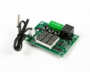XH-W1219 12V Digital Red+Green Display Temperature Controller Module W/ NTC Waterproof Temperature Sensor