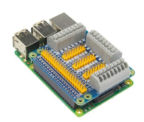 Raspberry Pi GPIO Expansion Shield For PI 2/3 B B+ Module (Robu.in)