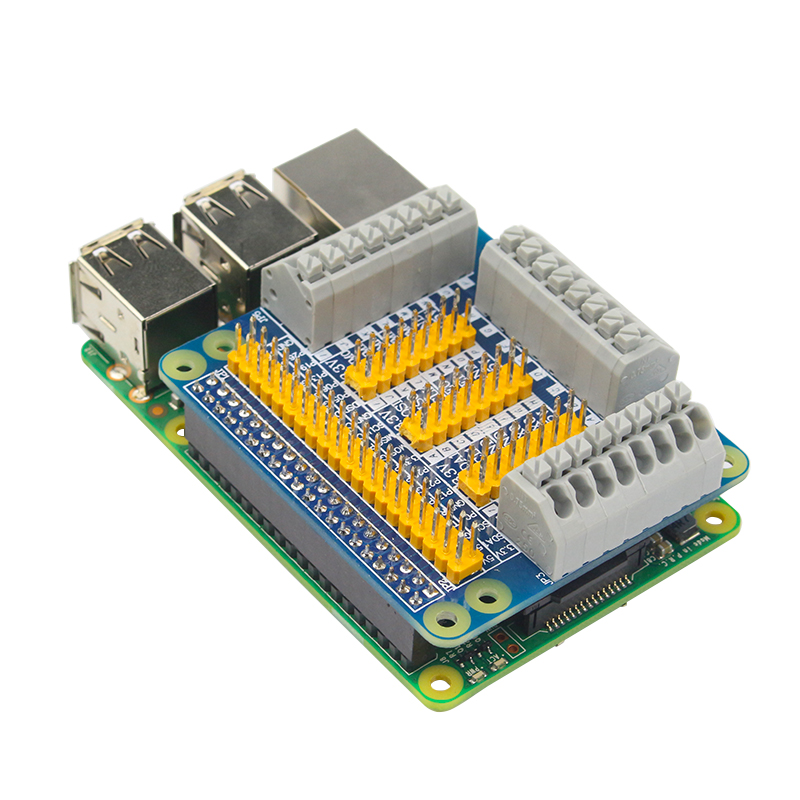 Raspberry Pi GPIO Expansion Shield For PI 2/3 B B+ Module - Robu in    Indian Online Store   RC Hobby   Robotics